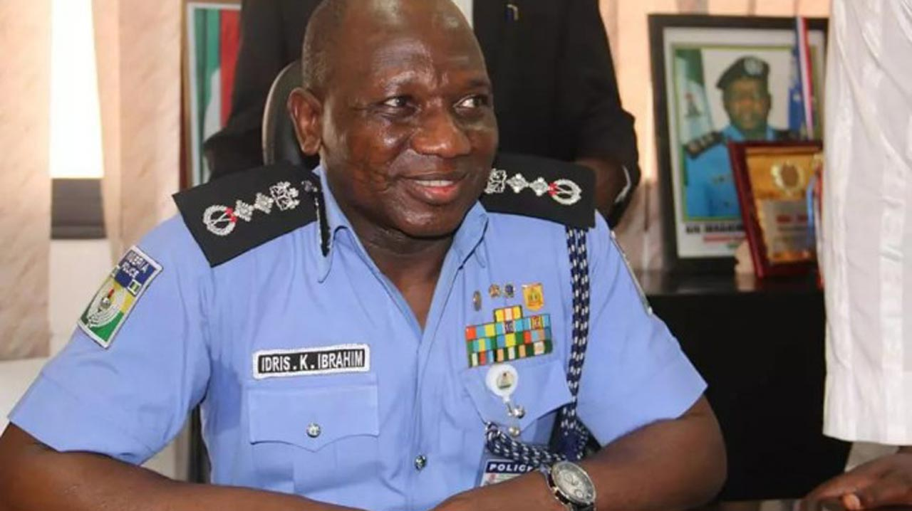 New Inspector General of Police, Ibrahim Idris
