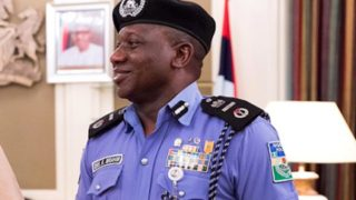 Ibrahim Idris,Inspector General of Police.