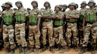 Battle ready army