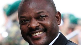Pierre Nkurunziza /EPA/LUKAS LEHMANN