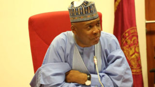 President of the Senate, Dr. Bukola Saraki PHOTO: TWITTER/BUKOLA SARAKI