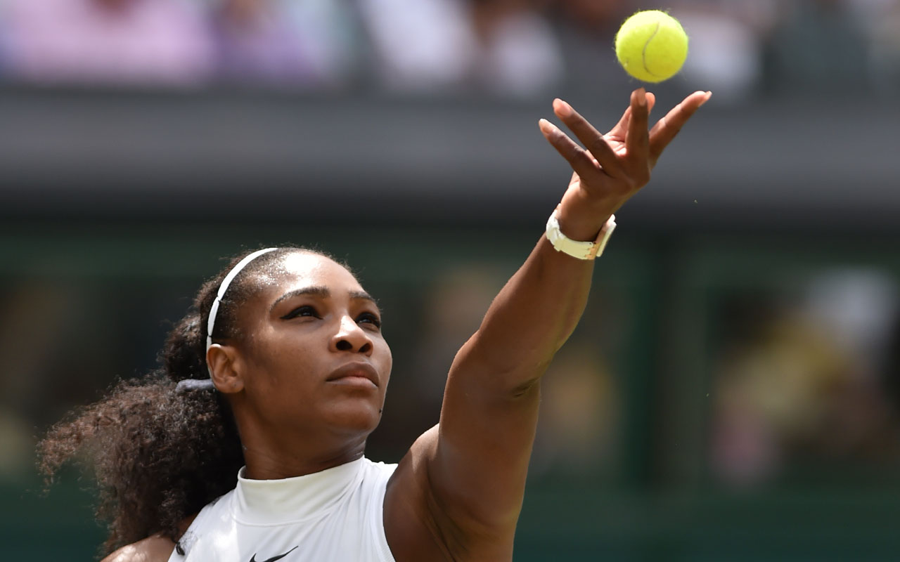 US player Serena Williams. / AFP PHOTO / GLYN KIRK /