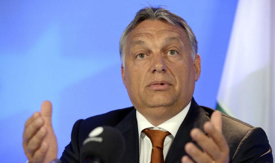 Viktor Orban. PHOTO:AFP