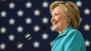 Democratic presidential candidate Hillary Clinton  / AFP PHOTO / JOSH EDELSON