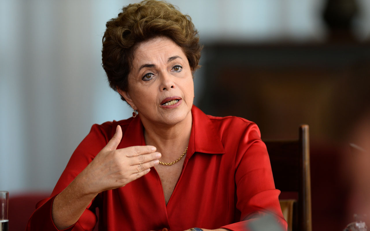 Former Brazilian President Dilma Rousseff/ AFP PHOTO / ANDRESSA ANHOLETE