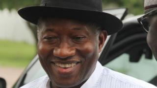 Former President Goodluck Jonathan PHOTO: Philip Ojisua