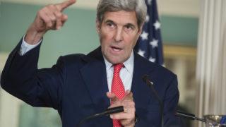 US Secretary of State John Kerry/ AFP PHOTO / SAUL LOEB