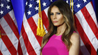 Melania Trump / AFP PHOTO / KENA BETANCUR