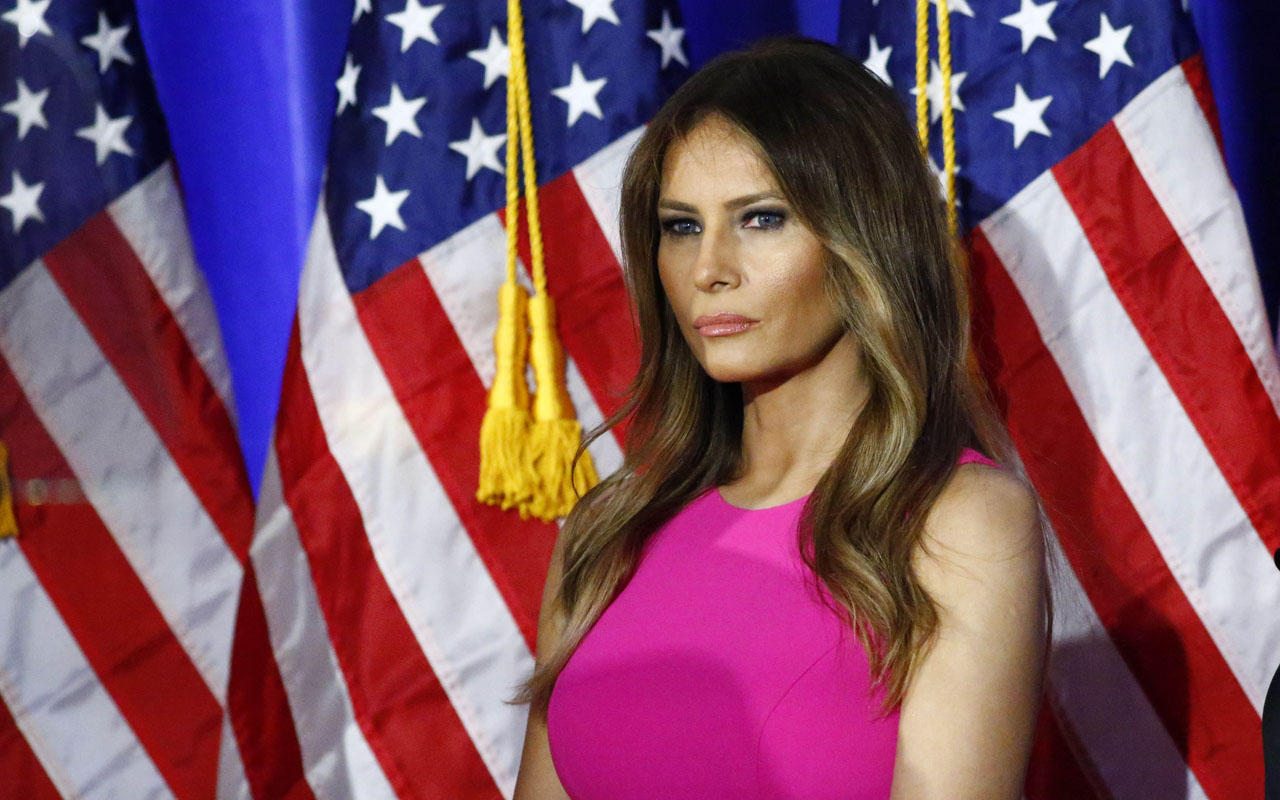 Melania Trump / AFP PHOTO / KENA BETANCUR