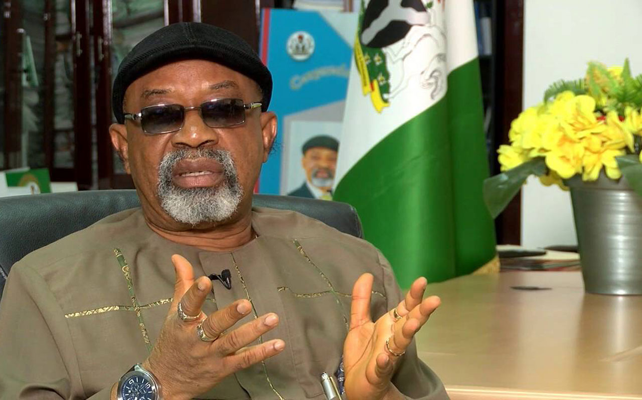 Minister of Labour and Employment, Dr Chris Ngige.
