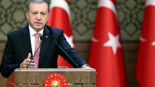 Turkish President Recep Tayyip Erdogan/ AFP PHOTO / TURKEY'S PRESIDENTIAL PRESS SERVICE / KAYHAN OZER
