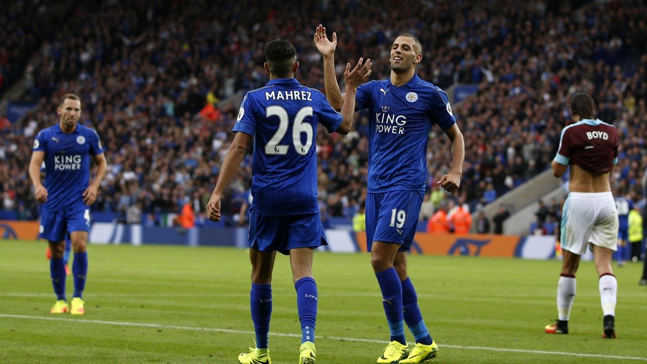 Burnley Vs Leicester City English Premier League 2017 ...
