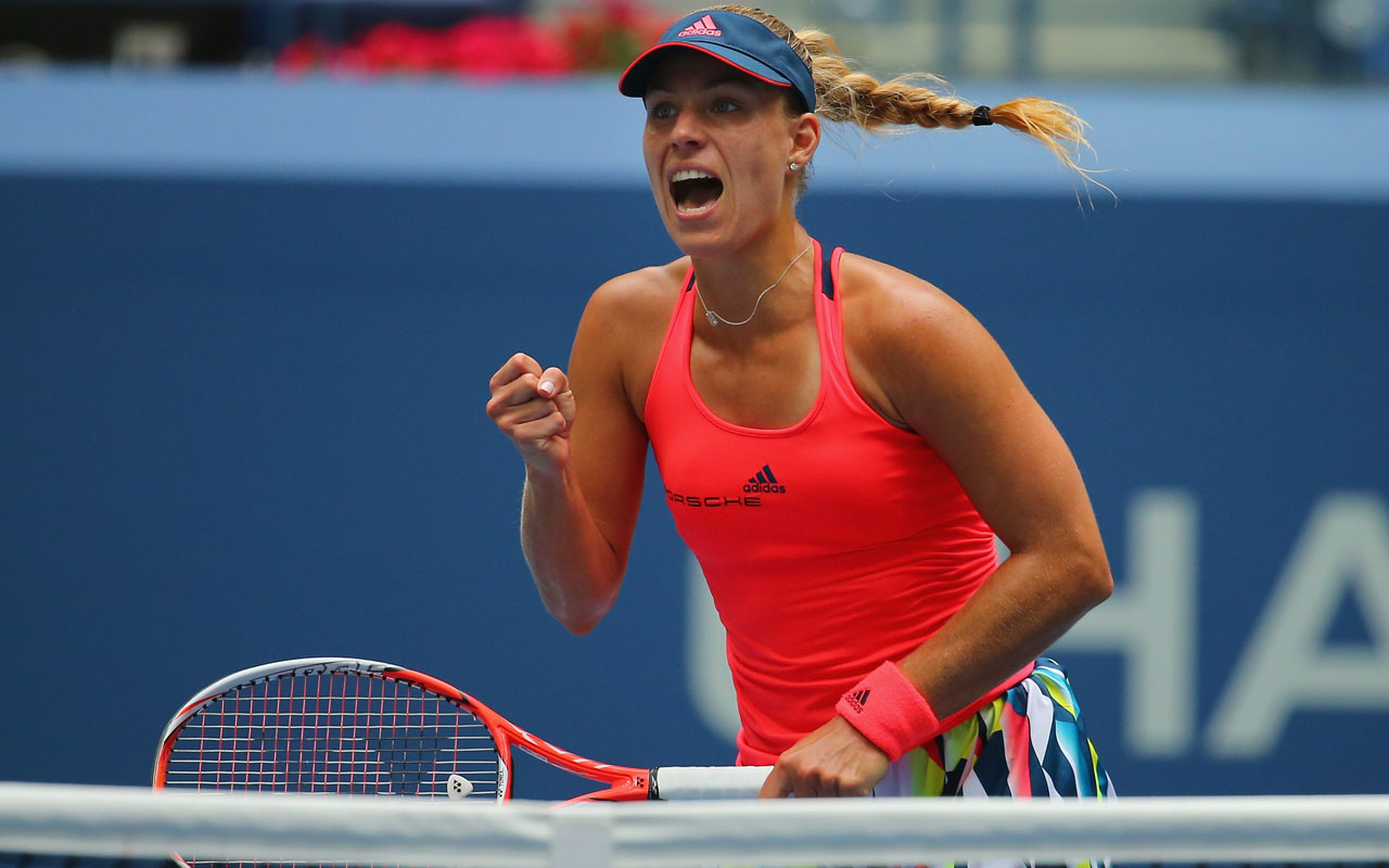 Angelique Kerber of Germany / Mike Stobe/Getty Images for USTA/AFP