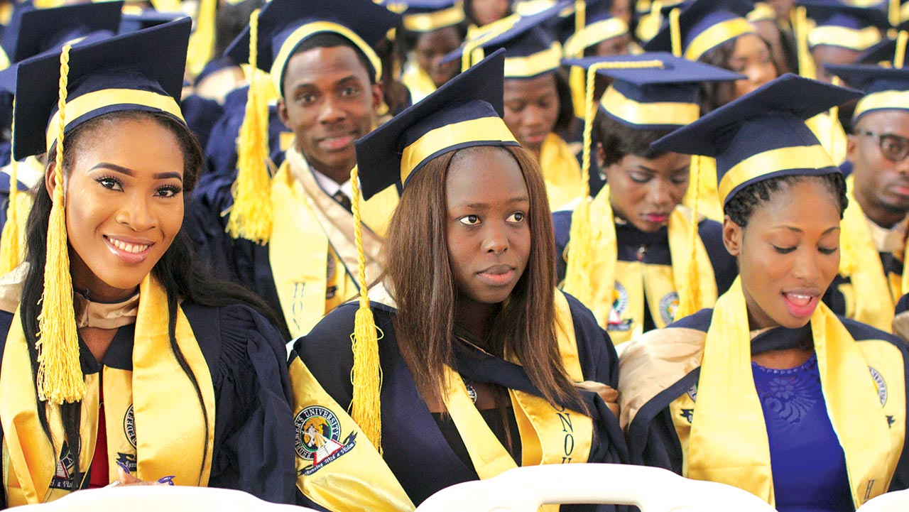 Redeemer's University graduands, during convocation.