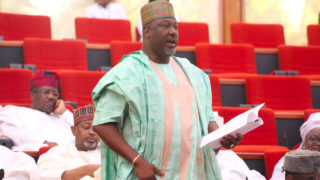 Senator Dino Melaye (APC - Kogi) PHOTO: TWITTER/NIGERIAN SENATE