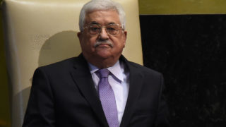 Mahmoud Abbas, President of the State of Palestine / AFP PHOTO / TIMOTHY A. CLARY