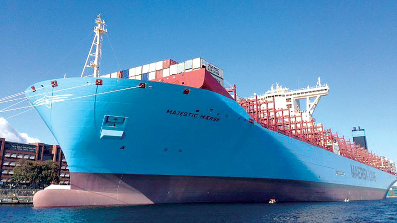 Majestic Maersk Dave Park