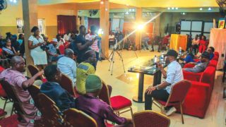 A cross section of artistes during the seminar in Lagos.                                                                                                                                                                                                                                                            PHOTOS: City People magazine