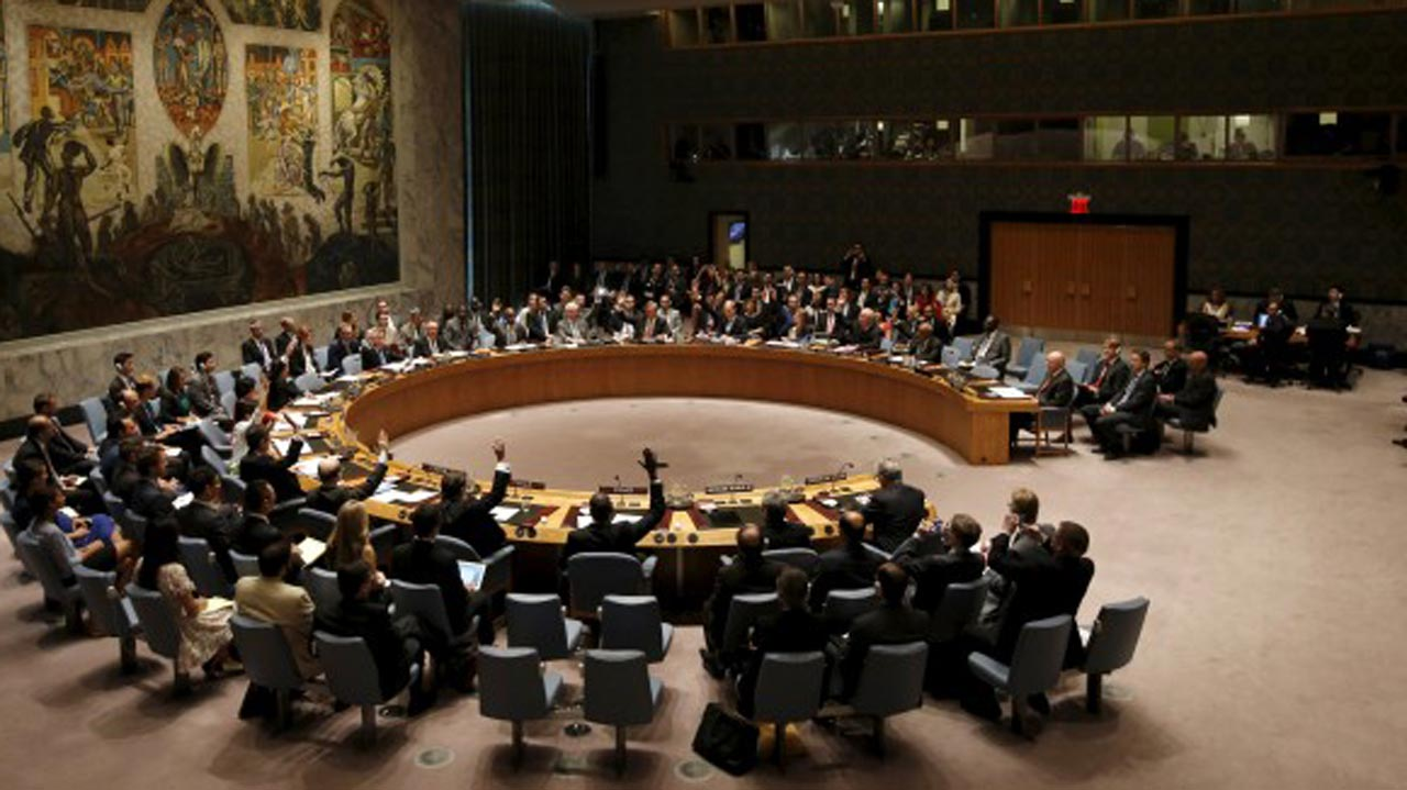 Does the un security council have
