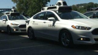Uber debuts self-driving cars