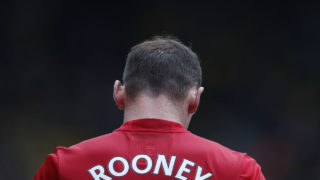Manchester United's English striker Wayne Rooney. AFP PHOTO / Adrian DENNIS /