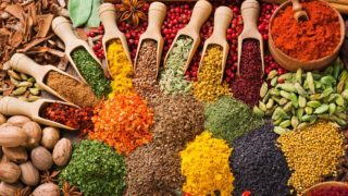 The most important spices needed in the kitchen.  PHOTO:   HealthEatingFood.com