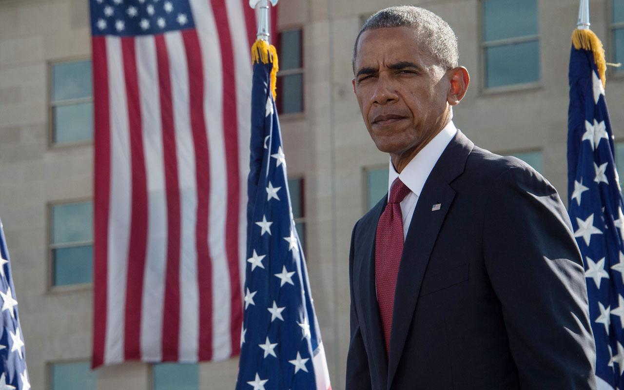 US President Barack Obama / AFP PHOTO / NICHOLAS KAMM