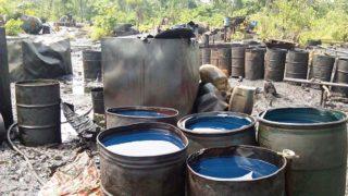 Illegal oil bunkering