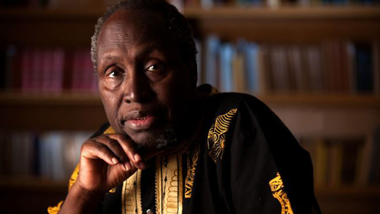 Kenyan writer Ngugi wa Thiong'o PHOTO: Daniel A. Anderson/UCI