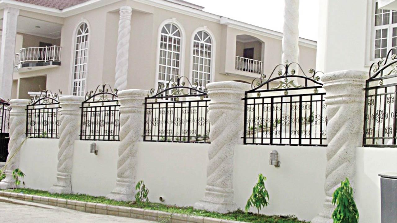 The disputed property in Asokoro, Abuja
