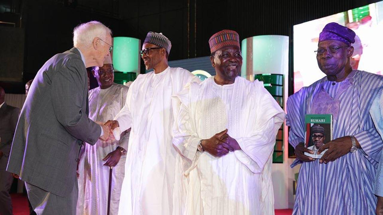 Buhari's book launch