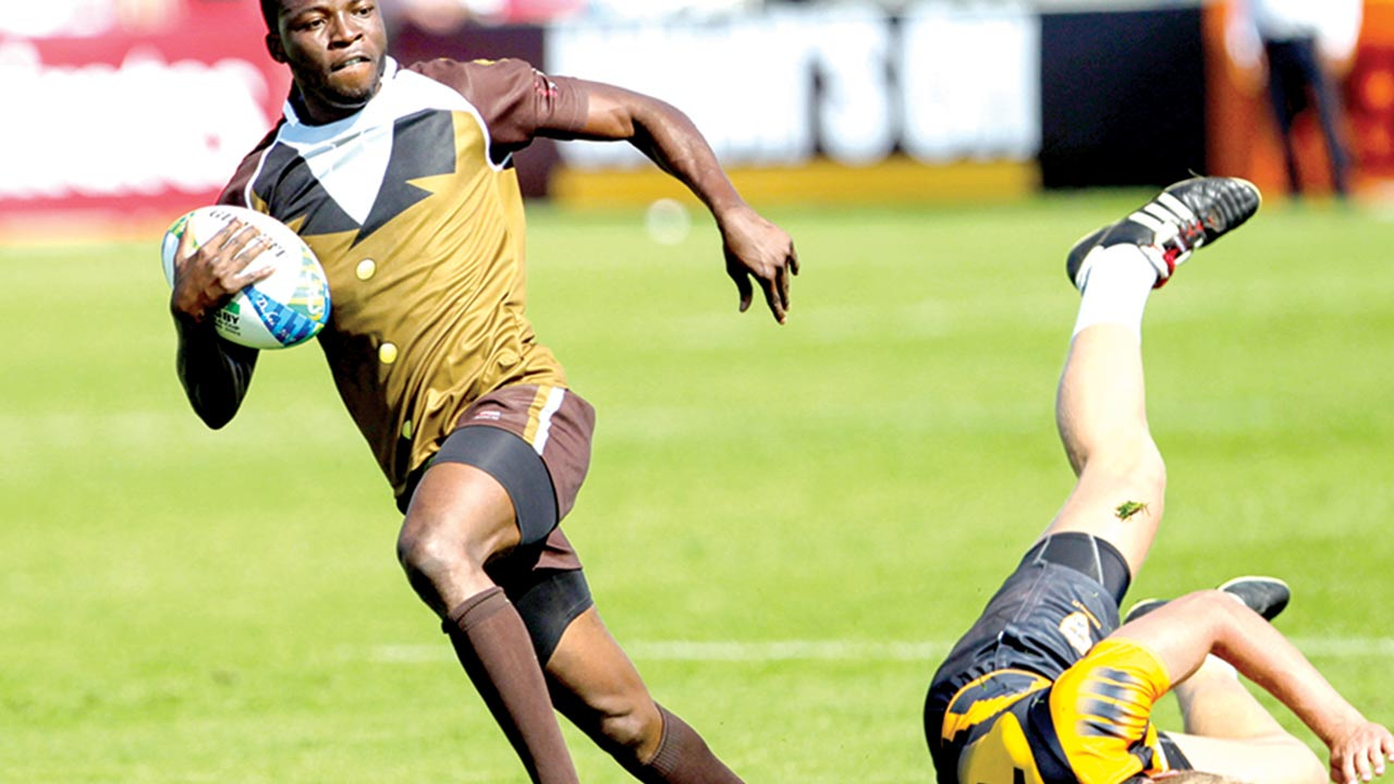 Cowrie Rugby Club Captain, Azeez Ladipo, led his team to victory at the last Independence 7s in Lagos.