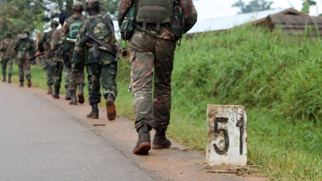 In March, a report by the Congo Research Group at New York University claimed that soldiers from the regular DR Congo army had also participated in some of the killings in the east (AFP Photo/Alain Wandimoyi)