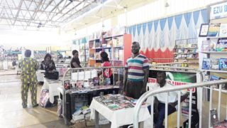 A scene from Enugu book fair