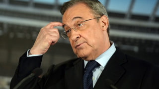 Florentino Perez PHOTO:AFP