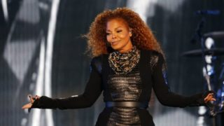 Janet Jackson, who turns 50 on May 16, is expecting her first child (AFP Photo/Karim Sahib)