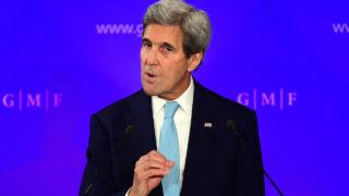 US State Secretary John Kerry / AFP PHOTO / EMMANUEL DUNAND