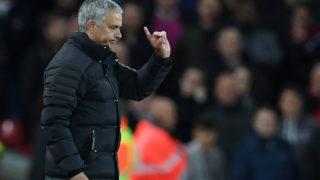 Manchester United's Portuguese manager Jose Mourinho  / AFP PHOTO / Paul ELLIS /