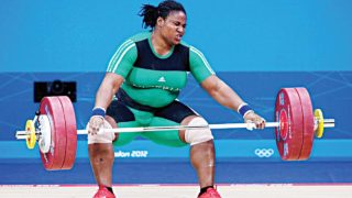 Nigeria's lone representative in weightlifting, Mariam Usman finishes 9th in her category at Rio Olympics.