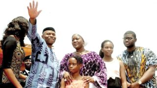 Mimiko and family.