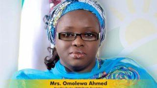 Mrs. Omolewa Ahmed