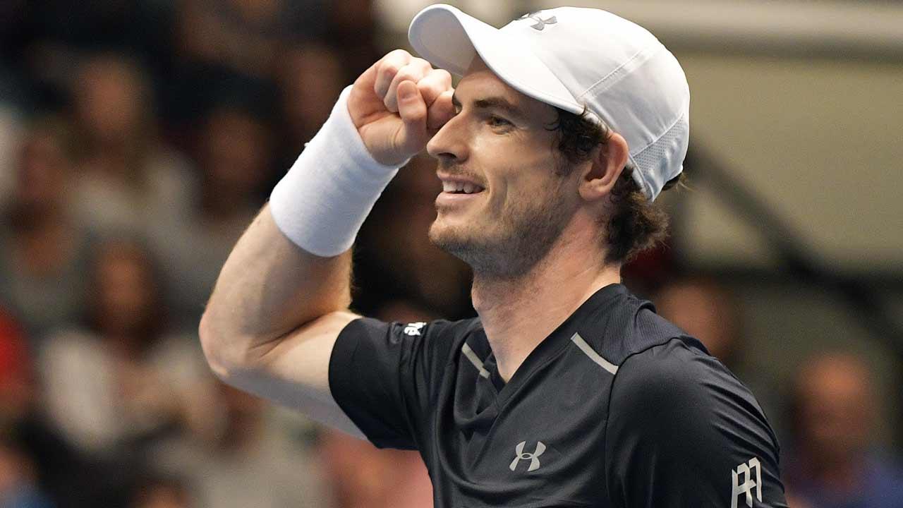 Andy Murray HANS PUNZ / APA / AFP