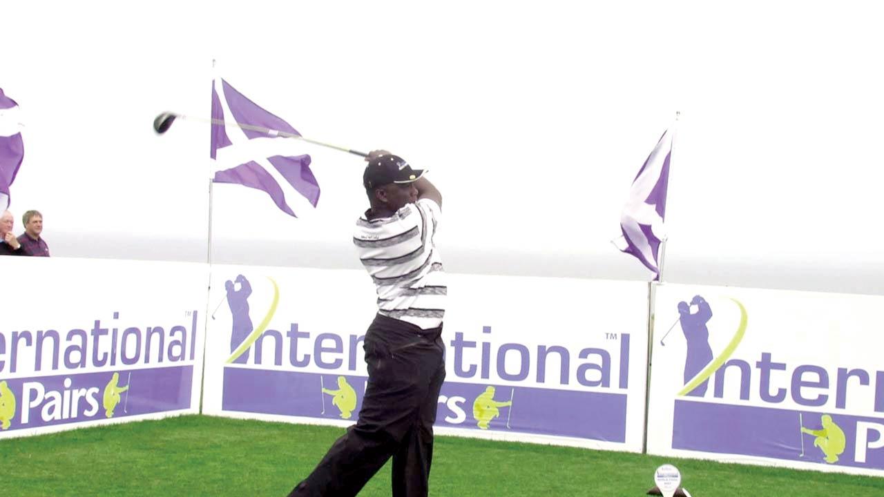 Remi Olukoya has represented Nigeria twice at the International Pairs.