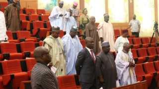 Nigerian Senate in rowdy session over Lagos bill