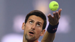 Novak Djokovic / AFP PHOTO / JOHANNES EISELE