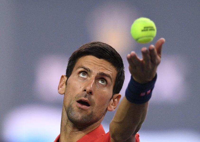 Novak Djokovic / AFP PHOTO / JOHANNES EISELE