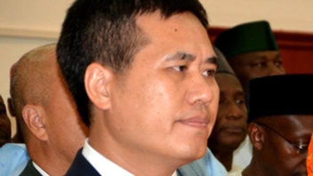 Chinese Ambassador to Nigeria, Mr. Zhou Pingjian