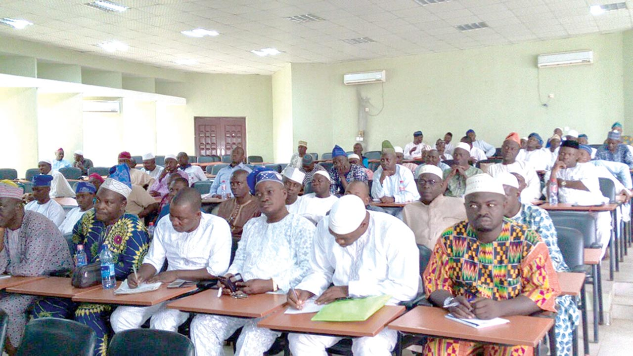 Participants during the workshop in Osogbo