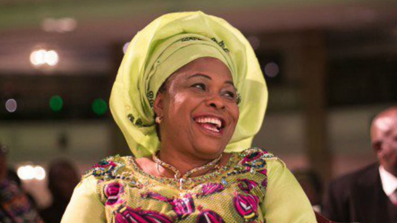 Former First Lady of Nigeria, Mrs Patience Jonathan