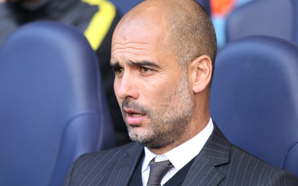 Manchester City's Spanish manager Pep Guardiola looks on ahead of the English Premier League football match between Tottenham Hotspur and Manchester City at White Hart Lane in London, on October 2, 2016. / AFP PHOTO / IKIMAGES / Ian KINGTON /